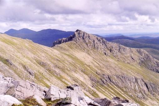 Mullach Choire Mhic Fhearchair's Craggy Top