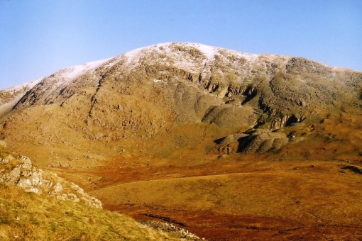 Coniston Old Man from Walna Ascent