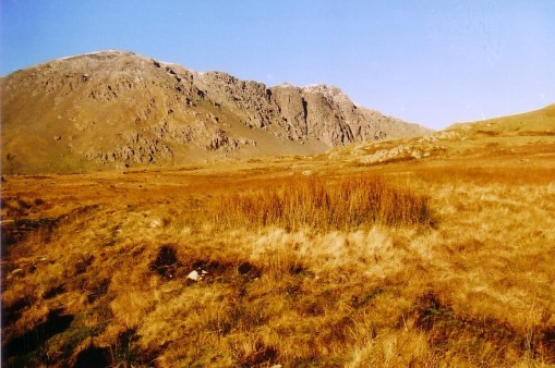 Dow Crag from Walna