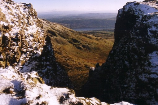 Dow Crag Great Gully