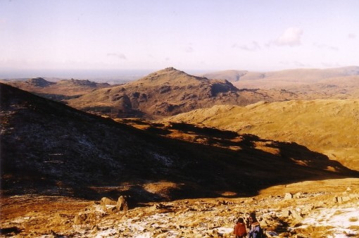 Harter Fell from Dow Crag Col