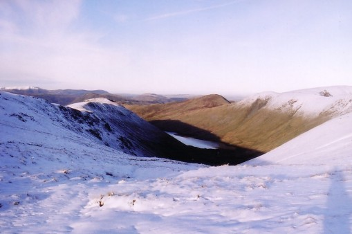 Hayeswater in snow