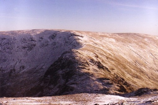 Ridge to Harter Fell (snow)