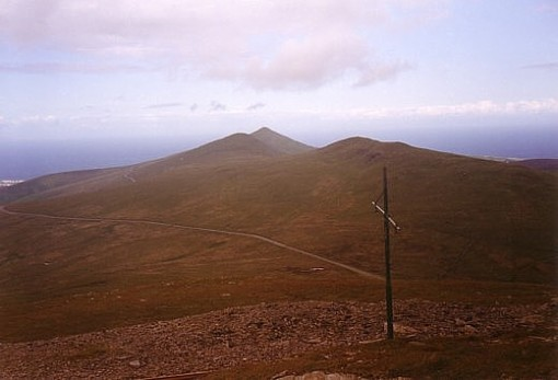 IOM-Barrule Ridge from Snaefell