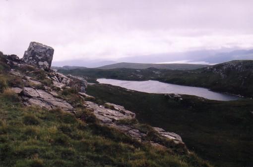 Dun Caan Side Peak to Loch