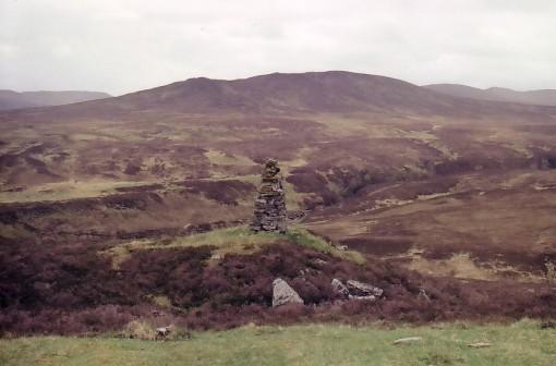 Stone Cairn on Gaick Pass