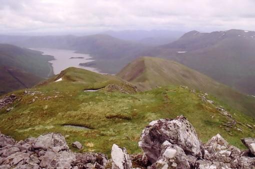 Sgurr an Fhuarail - ascent from L Cluanie